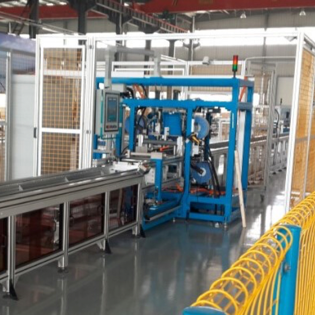 Customized China Automatic Busbar Assembly Line for LV Busbar Trunking System Produce