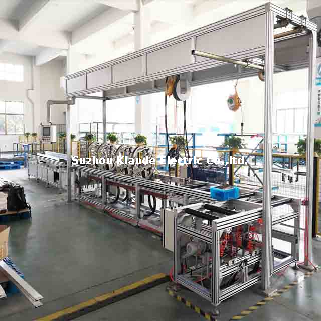 Semi-automatic Busduct Assembly Line for Compact Bus bar housing Assembly